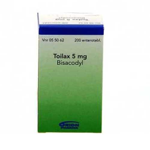 Toilax afføringsmiddel, 200 tabletter