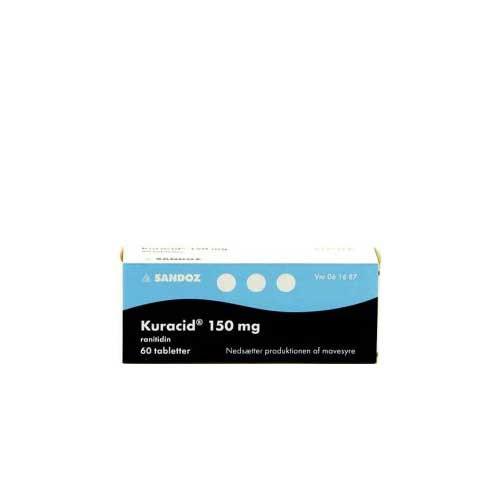 Kuracid 150 mg, 60 stk