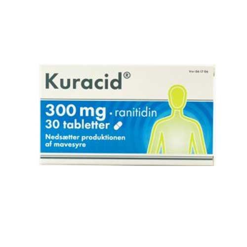 Kuracid 300 mg, 30 tabl