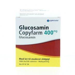 Glucosamin Copyfarm 400 mg, 4x250 tabl