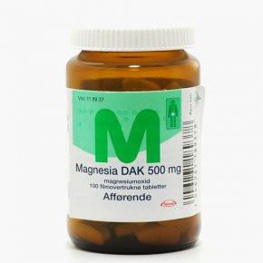 Magnesia DAK 100 stk.