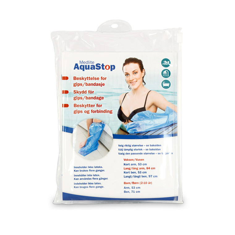 Aquastop badebeskyttelse, Voksen kort ben