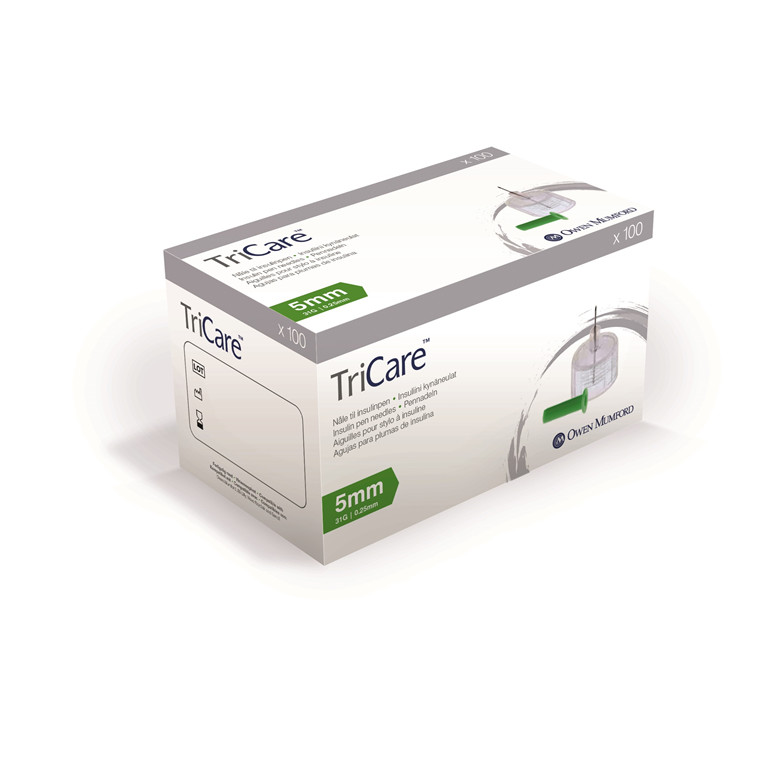 Tricare 0,25 x 5mm 31G penkanyle
