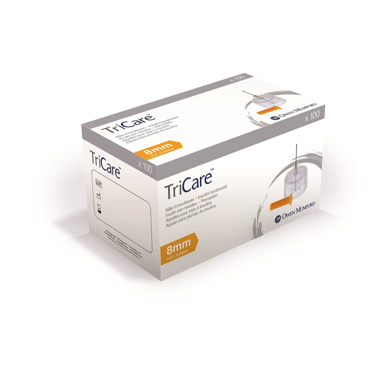 Tricare 0,25 x 8mm 31G penkanyle