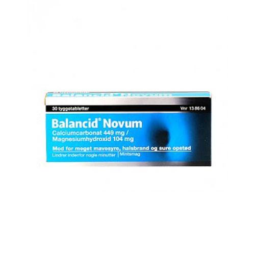 Balancid Novum, 30 stk.