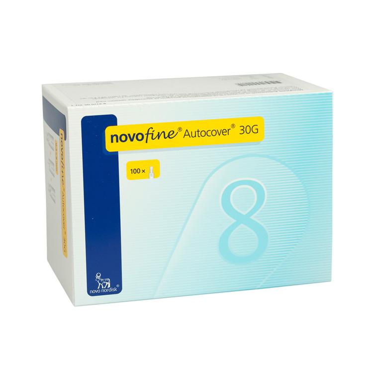 Novofine Autocover 0,30 X 8 mm 30G penkanyle