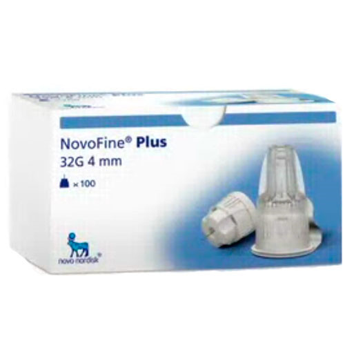 NovoFine Plus 4 mm penkanyle