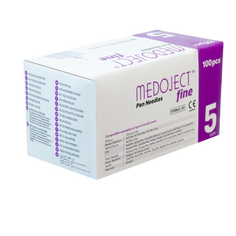Medoject Fine 0,25 x 5mm 31G penkanyler
