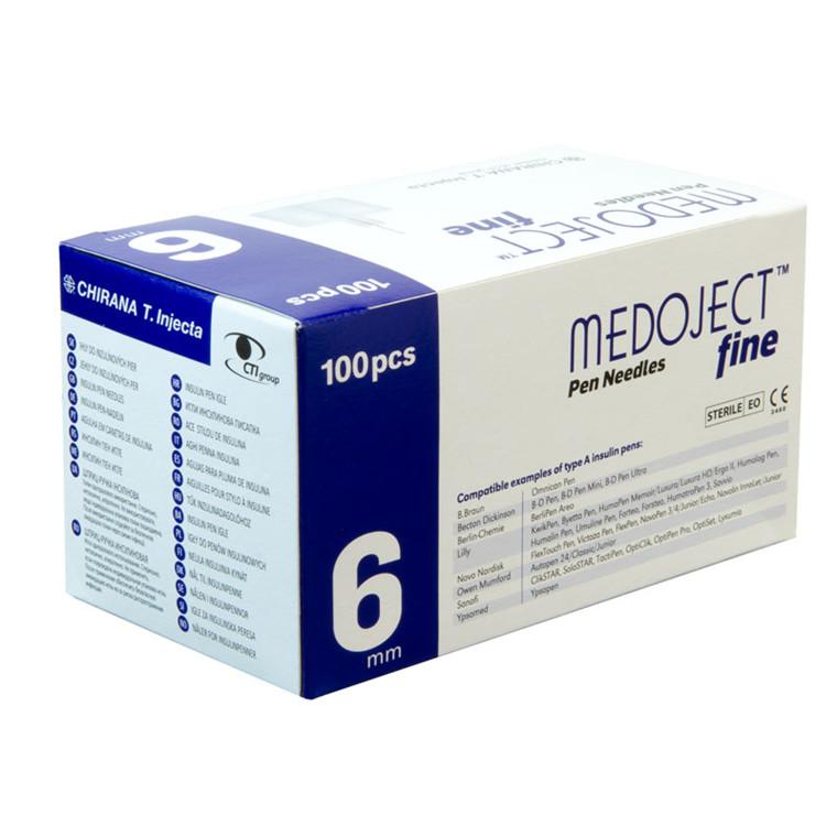 Medoject Fine 0,25 x 6mm 31G penkanyler
