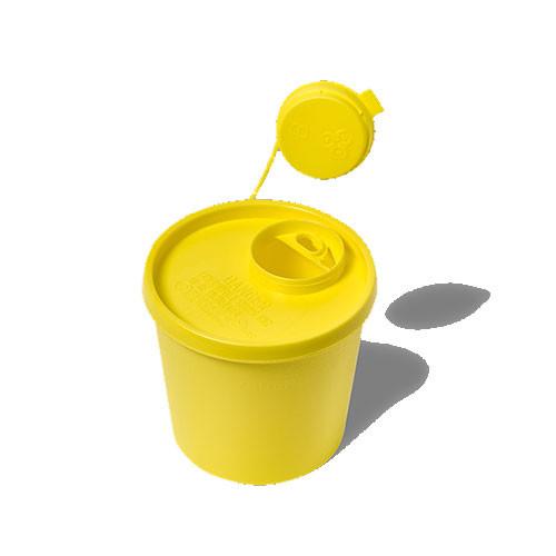 Kanylebøtte - 1,5 l. gul