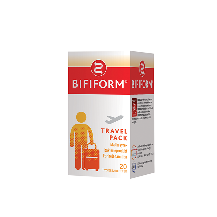 Bifiform Travel Pack, 20 tabletter