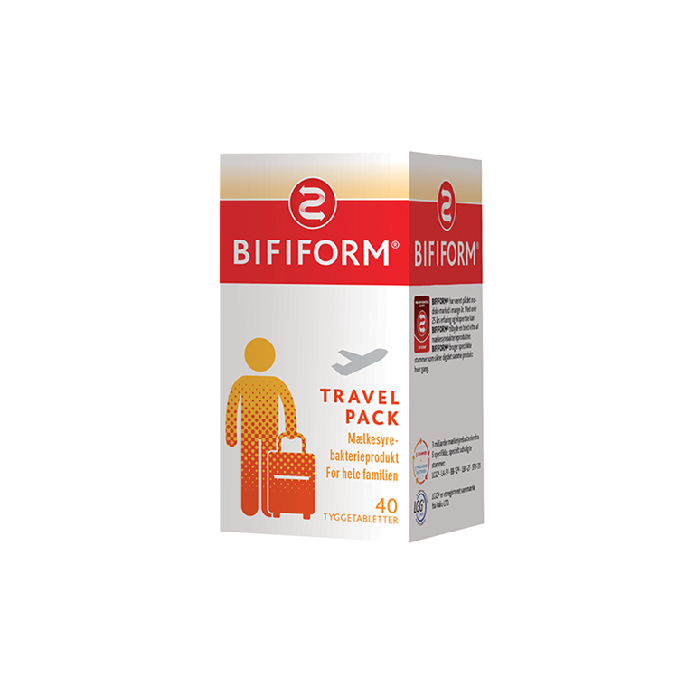 Bifiform Travel Pack, 40 tabletter