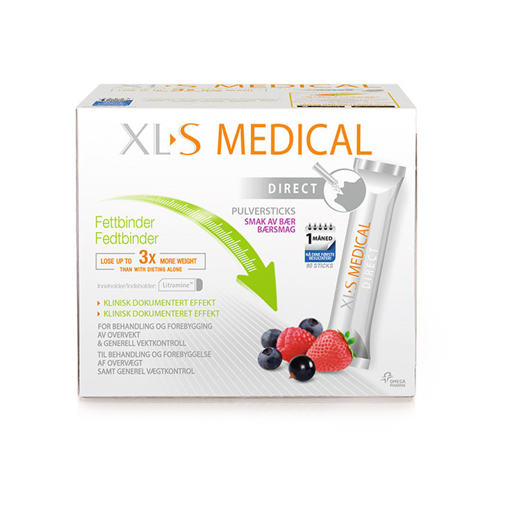 XLS Medical Fat Binder Direct, 90 sticks