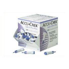 Accu-Chek Safe T-Pro+, 23G x 1,3/1,8/2,3 mm, 200 stk.