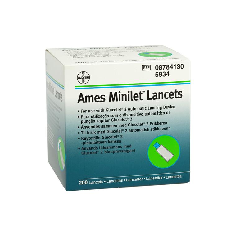 Ames Minilet lancetter