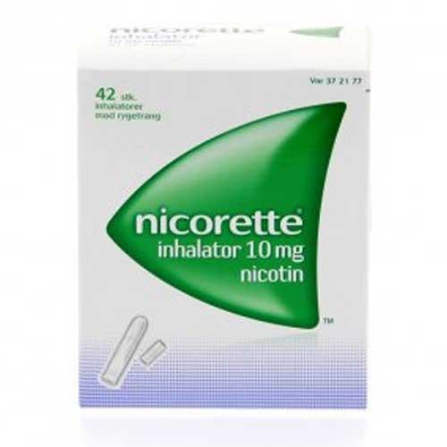 Nicorette 10 mg inhal.refill, 42 stk