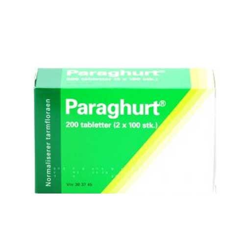 Paraghurt, 200 tabletter