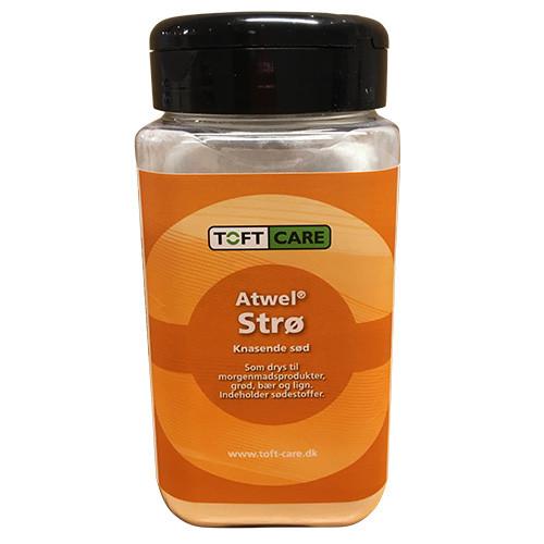 Atwel strø, 400 g.