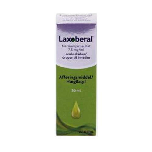 Laxoberal dråber 7,5 mg/ml