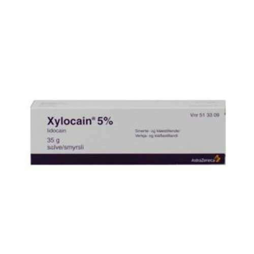 Xylocain salve 5%, 35 g