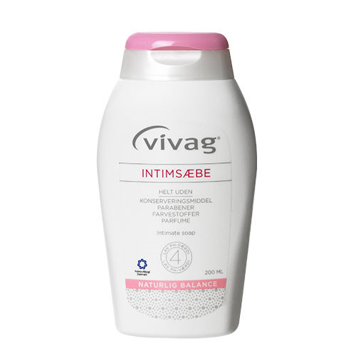 Vivag Intimsæbe, 200 ml.