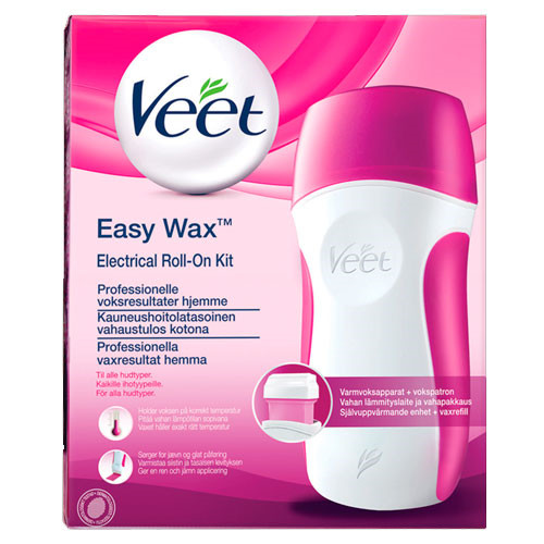 Veet Easy Wax Roll-on startsæt