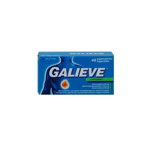 Galieve Peppermint 250+133,5+8, 48 stk