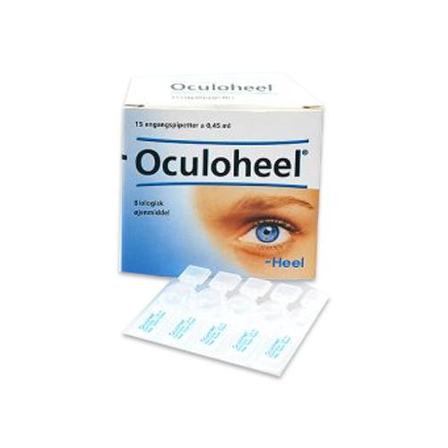 Oculoheel biologiske øjendråber, 15x0,45 ml.