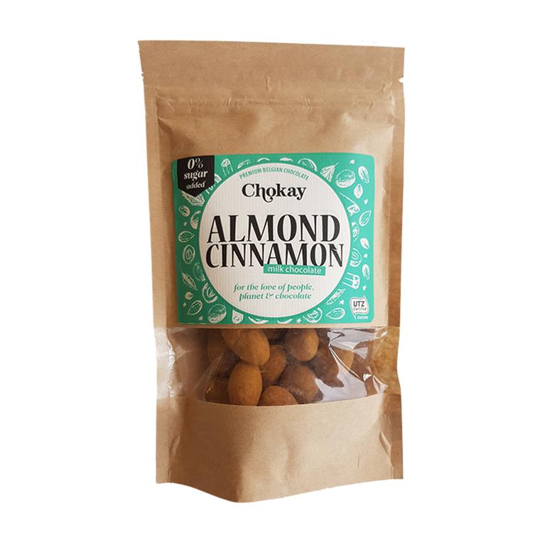 Chokay Chokomandler m/kanelpulver uden tilsat sukker, 110 g