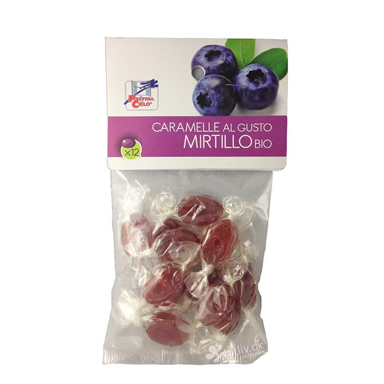 Økologiske blåbærbolcher uden tilsat sukker, 60 g