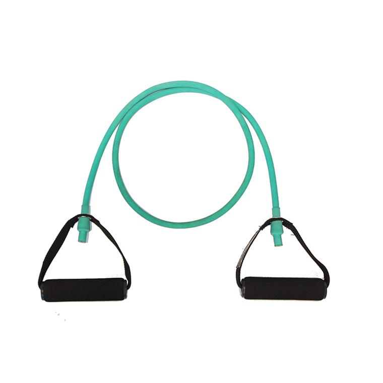 Body-Tube træningselastik, grøn, medium