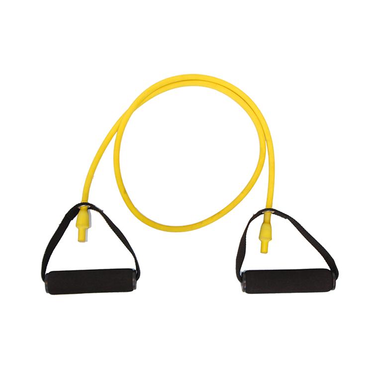 Body-Tube træningselastik, gul, let