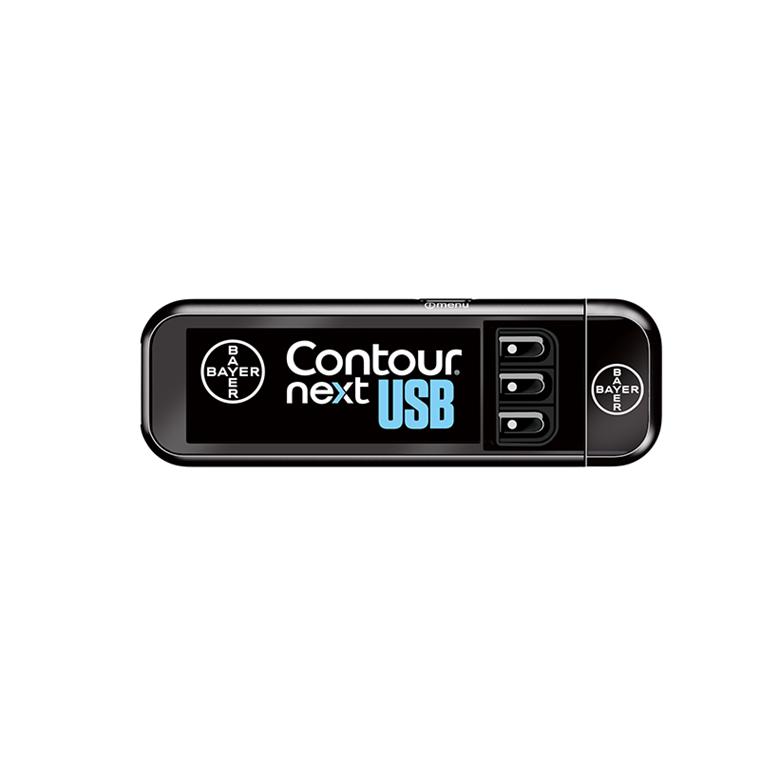 CONTOUR® NEXT USB blodsukkerapparat