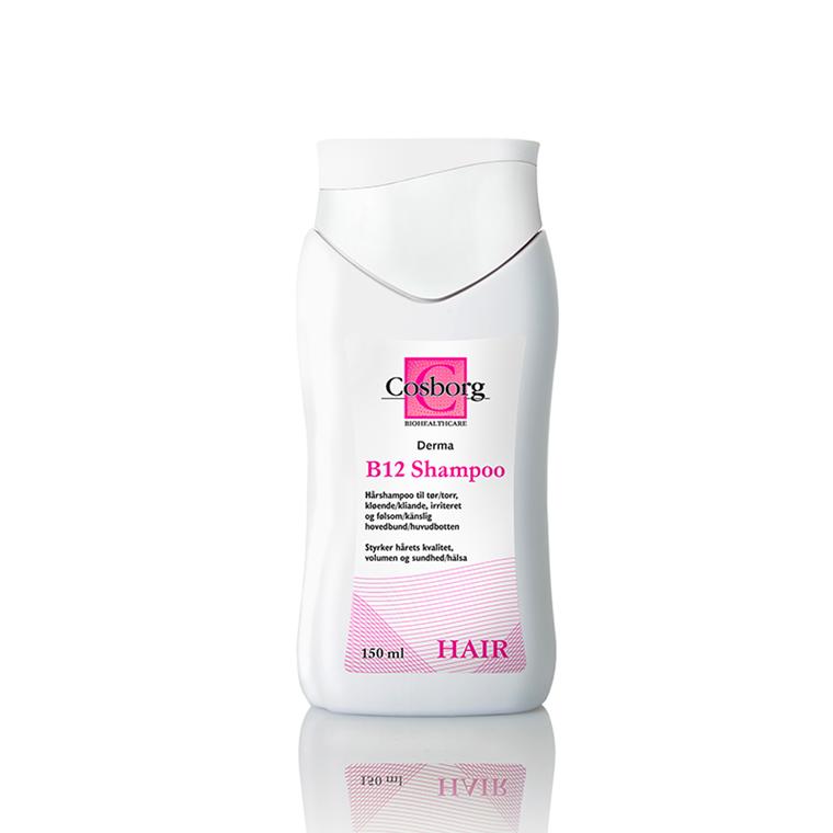 Cosborg Derma B12 shampoo, 150 ml.