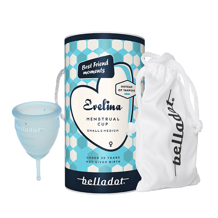 Belladot Evelina Menstruationskop, str. 1