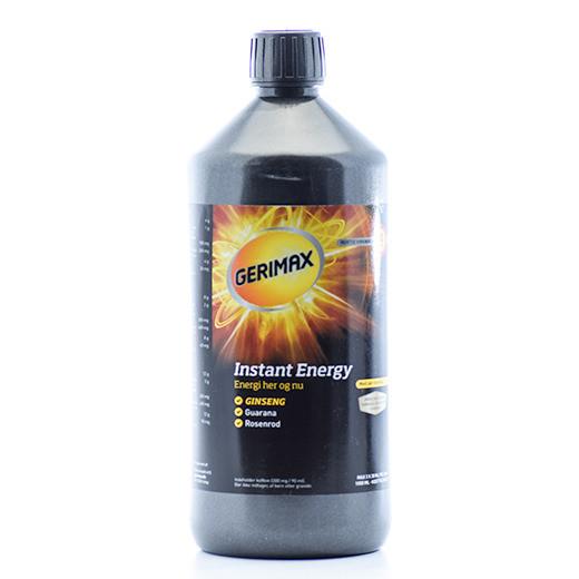 Gerimax Instant Energy med rosenrod lakrids, 1 L