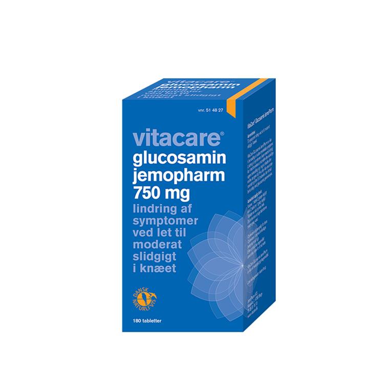 VitaCare Glucosamin JemoPharm, 750 mg, 180 tabletter