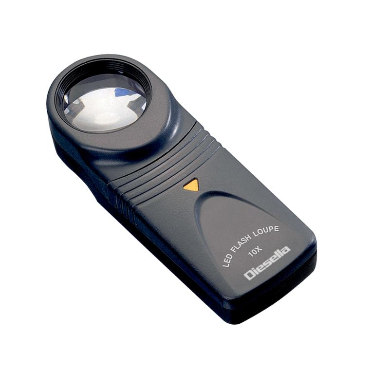 LED håndlup 10X forstørrelse