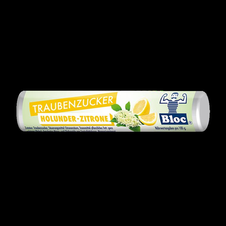 Bloc Druesukker Hyldeblomst-Citron