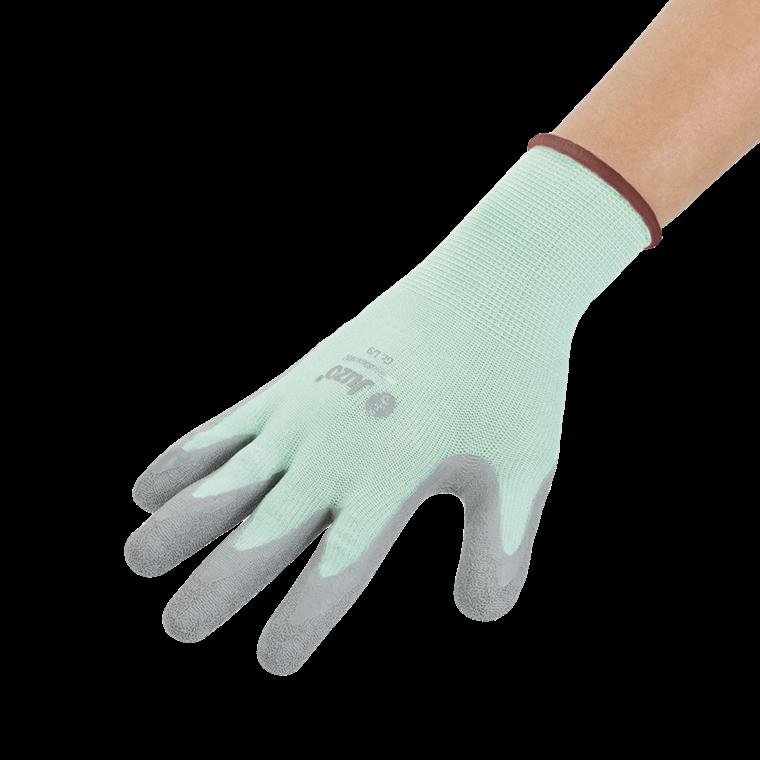 Juzo handske til påtagning af kompressionsbeklædning