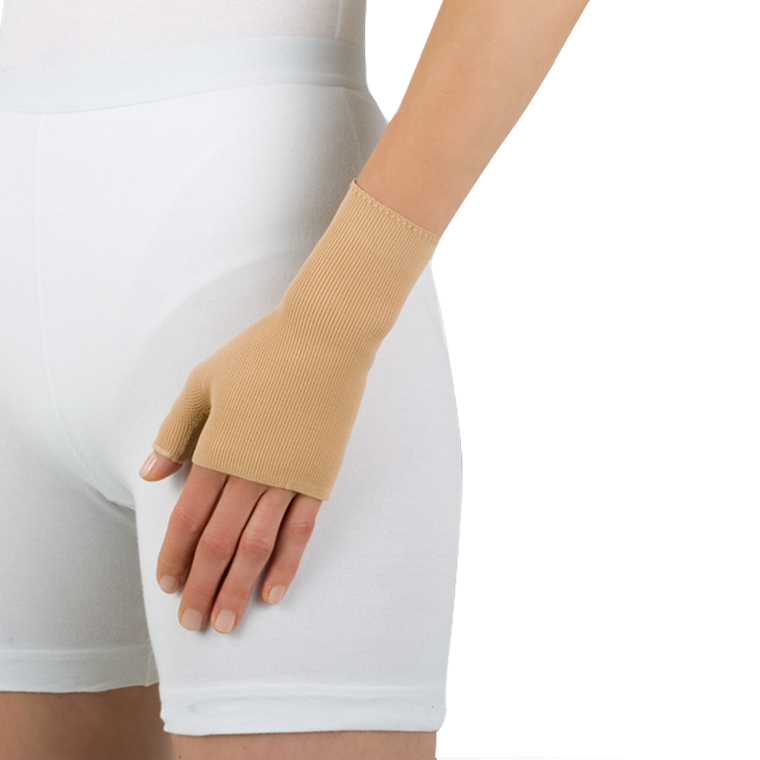 Elvarex ccl. 2 handske - med tommel, uden fingrer
