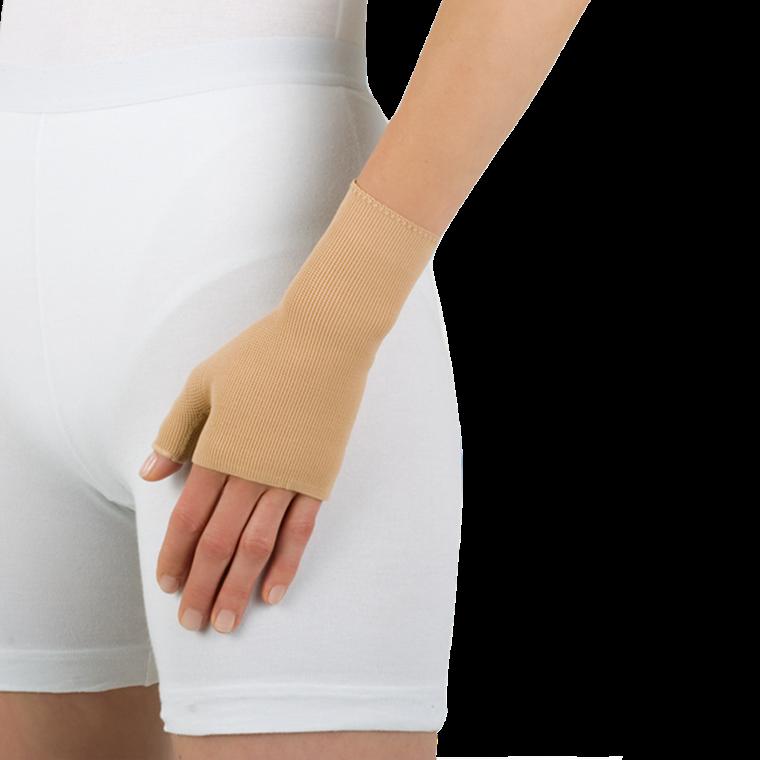 Elvarex ccl. 1 handske - med tommel, uden fingrer