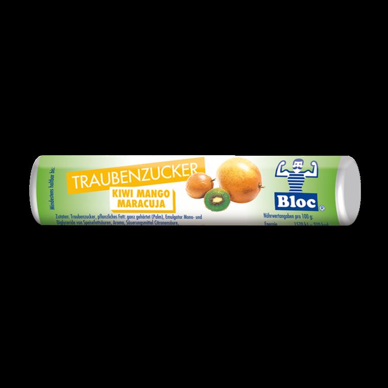 Bloc Druesukker Kiwi-Mango-Passionsfrugt