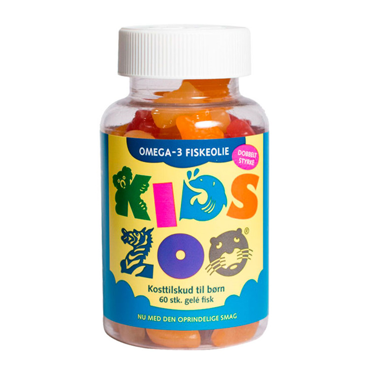Kids Zoo Omega-3, 60 stk.