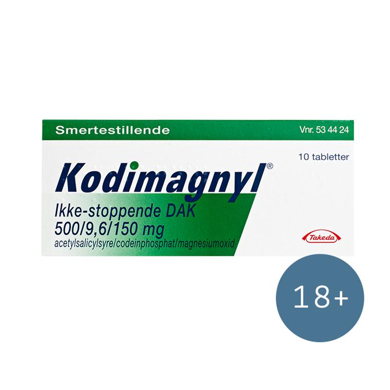 Kodimagnyl - ikke stoppende, 10 stk.