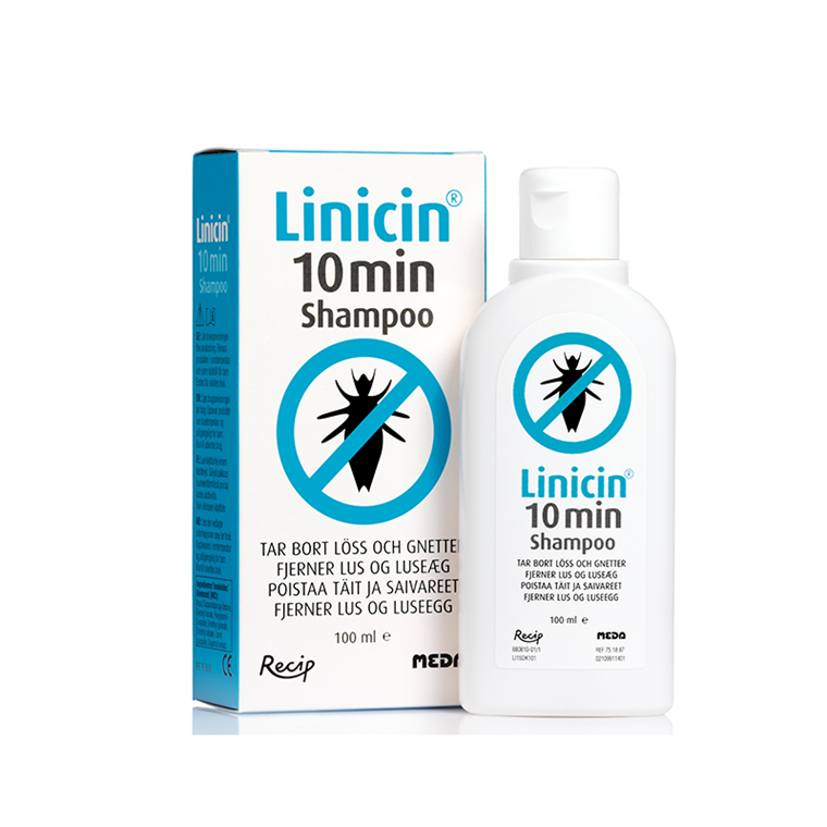 Linicin 10 min. luseshampoo, 100 ml