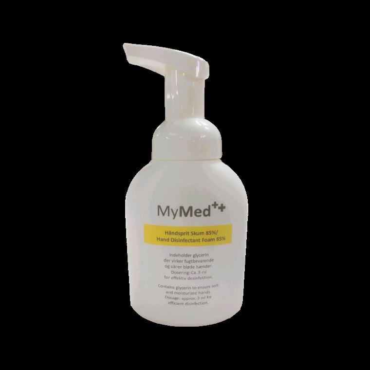 MyMed Håndsprit Skum 85%, 250 ml.