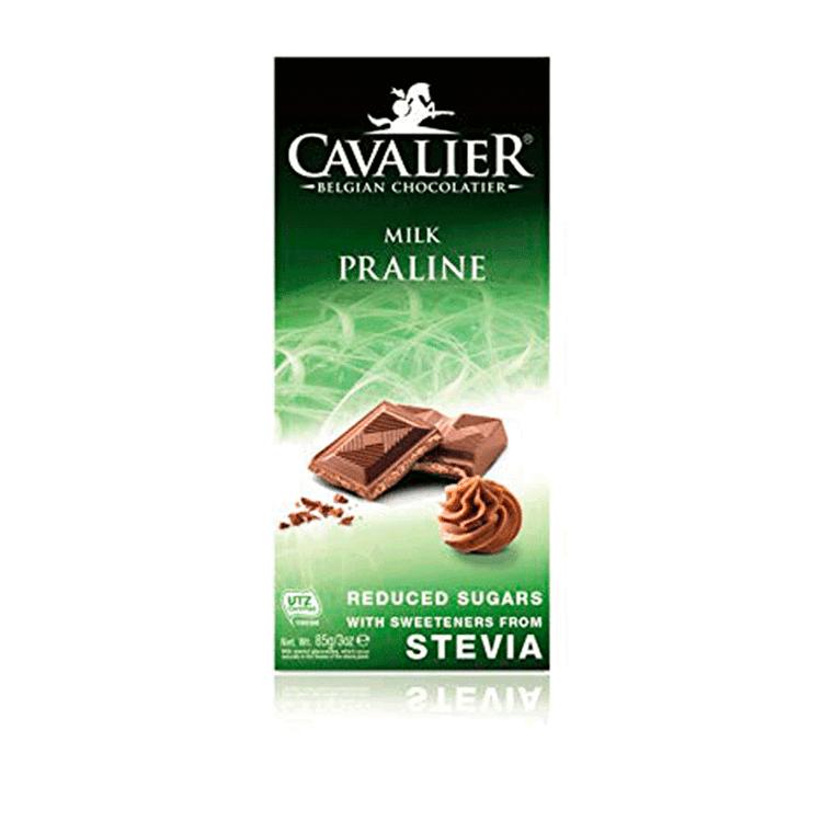 Cavalier chokoladeplade Praline 85 g.