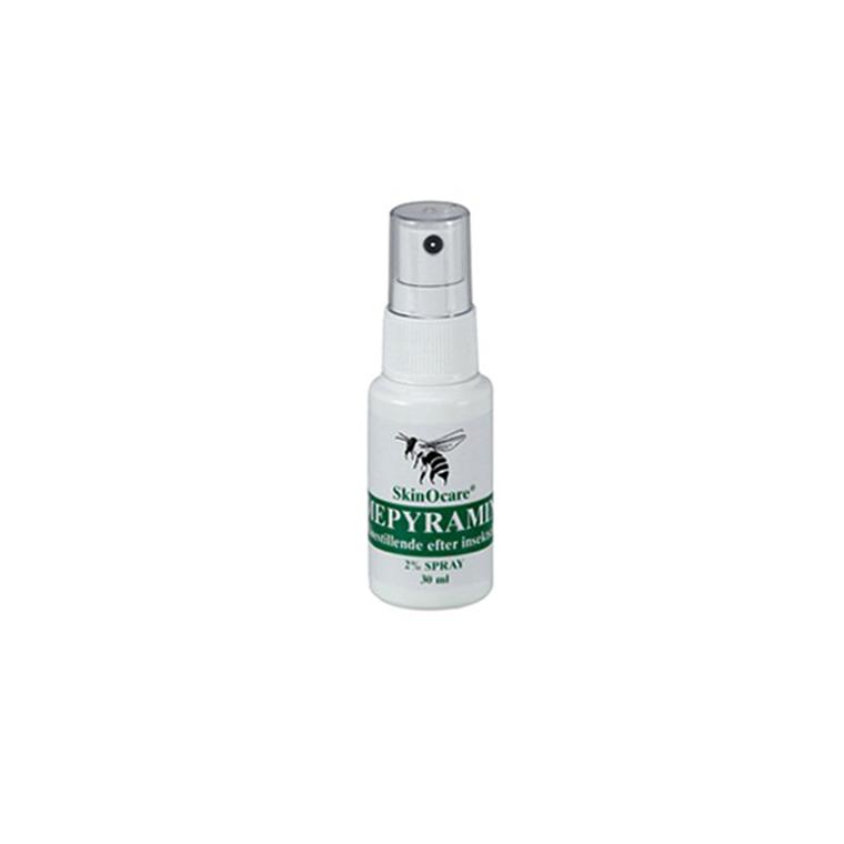 SkinOcare mepyramin 2% kløestillende spray, 30 ml.
