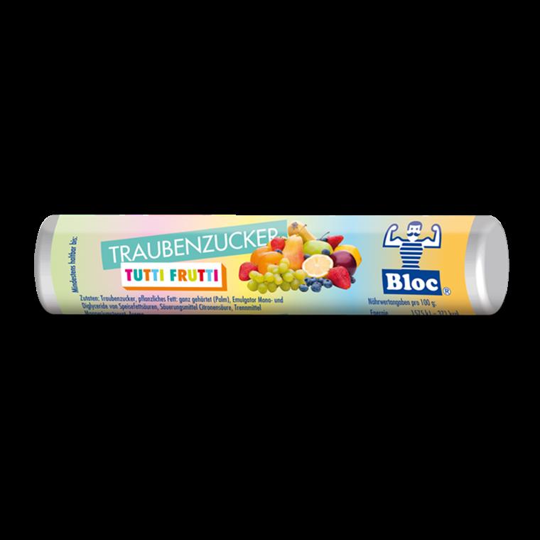 Bloc Druesukker Tutti Frutti